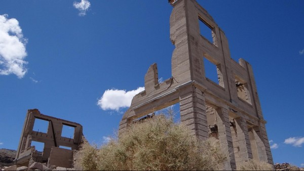 Banque Cook Rhyolite Ghost Town