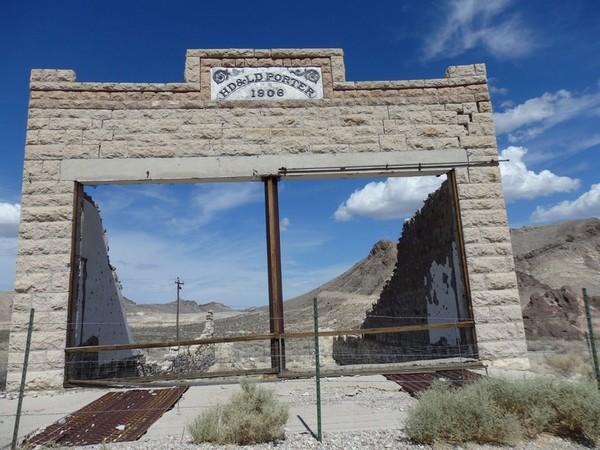 HD & LD Porter Store Rhyolite Nevada