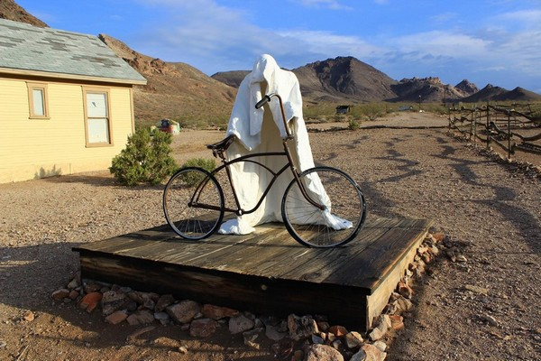 The Ghost Rider Rhyolite Ghost Town
