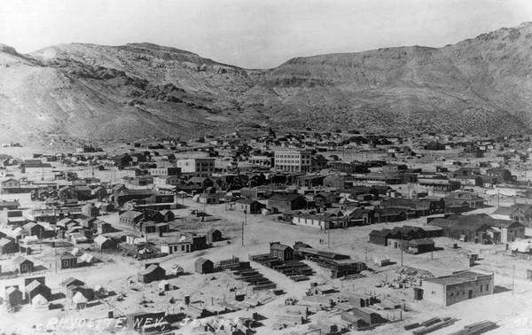 Rhyolite Ghost Town 1908