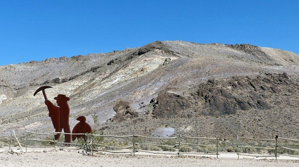 Tribute to Shorty Harris Rhyolite Ghost Town