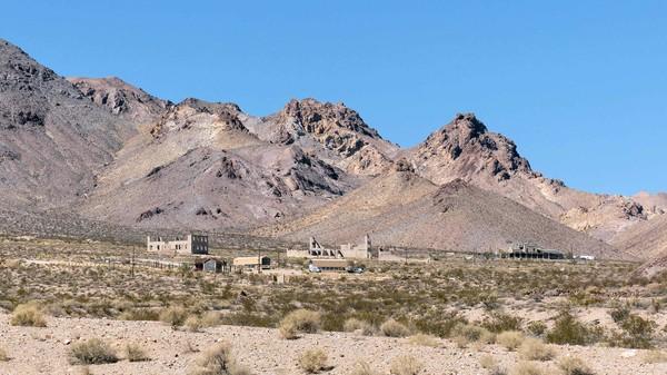Vue générale Rhyolite Ghost Town Nevada