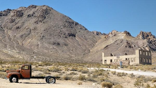 L'école de Rhyolite Ghost Town Nevada