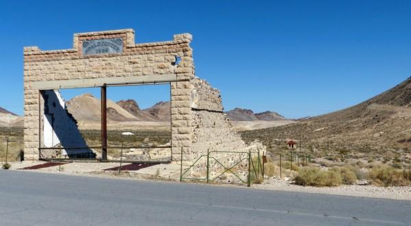 HD & LD Porter Store Rhyolite Ghost Town Nevada