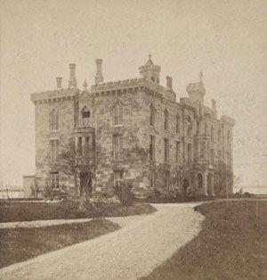 Smallpox Hospital, circa 1870 Roosevelt Island New York