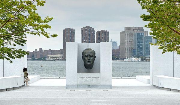Franklin D. Roosevelt Four Freedoms Park Roosevelt Island New York