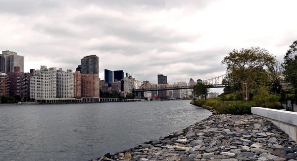 East River depuis Roosevelt Island New York