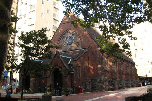 Chapel of the Good Shepherd Roosevelt Island New York