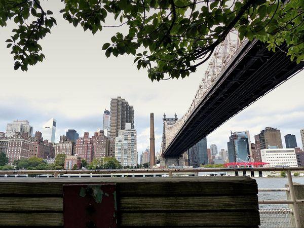 Manhattan vu depuis Roosevelt Island New York
