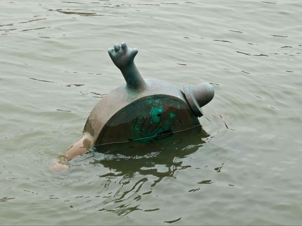 The Marriage of Money and Real Estate Tom Otterness Roosevelt Island New York