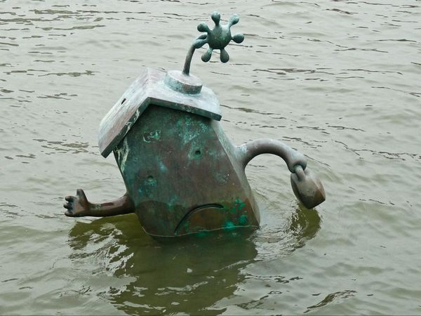 The Marriage of Money and Real Estate Tom Otterness Roosevelt Island