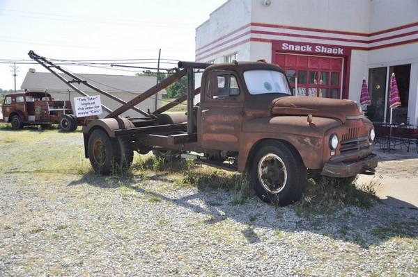 Route 66 Galena au Kensas a inspiré le film Cars