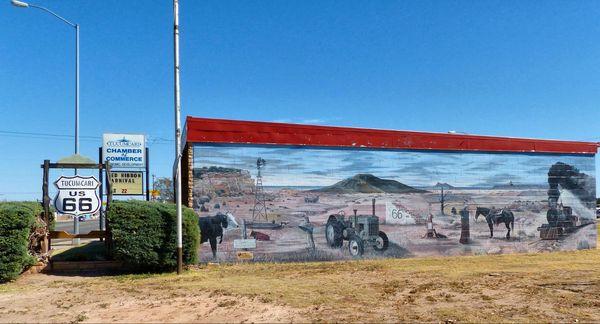 Route 66 A Tucumcari, Nouveau-Mexique