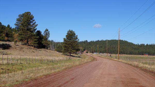 Une ancienne section de la Route 66 en Arizona