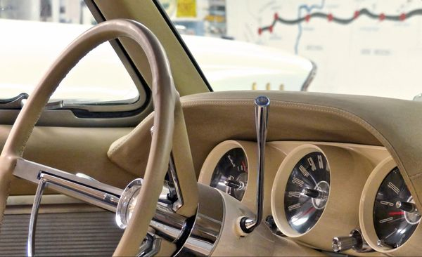 Ford Thunderbird à Santa Rosa, Nouveau Mexique