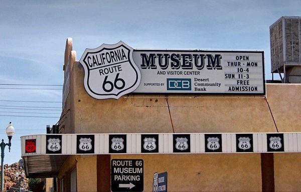 Musée de la Route 66 à Victorville, Californie