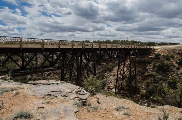Querino Canyon Bridge Querino Dirt Road Route 66 Arizona