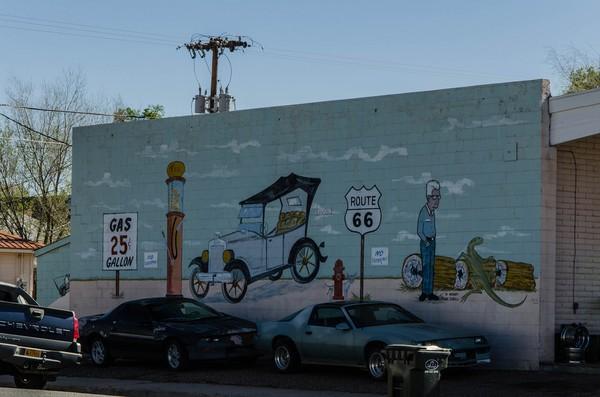 Mural Holbrook Route 66 Arizona