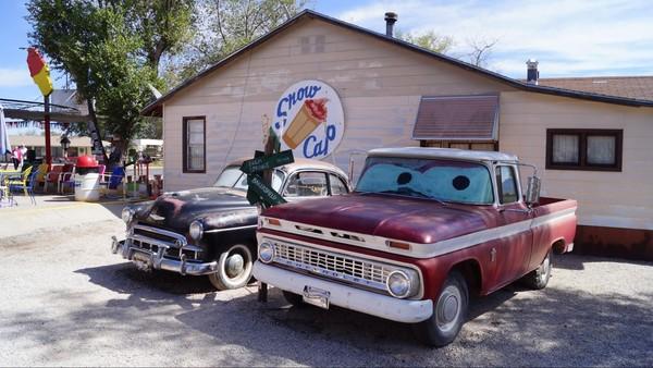 Snow Cap Drive In Seligman Route 66 Arizona