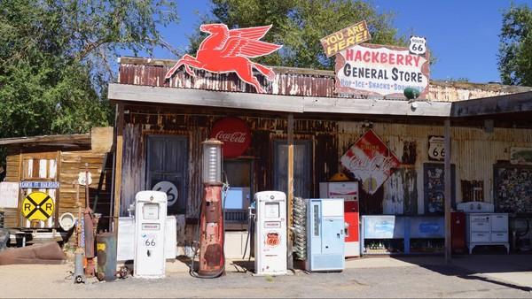 General store Hackberry Route 66 Arizona
