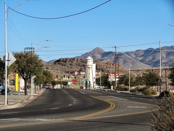 Château d'eau Kingman Route 66 Arizona