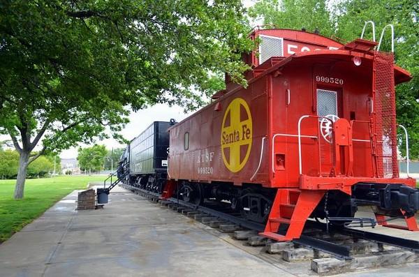Locomotive Park Kingman Route 66 Arizona
