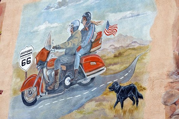 Mural Kingman Route 66 Arizona