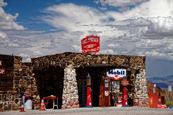 Station-service Mobil Cool Springs Route 66 Arizona