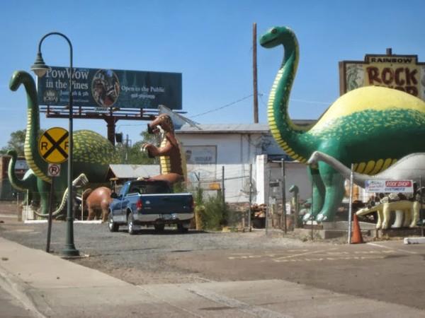 Rainbow Rock Shop Holbrook Route 66 Arizona