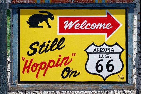 Panneau Jackrabbit Trading Post Joseph City Route 66 Arizona