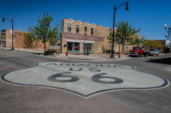 Standin' On The Corner Park Winslow Route 66 Arizona