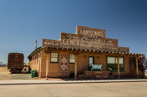 Lorenzo Hubbell Trading Post & Warehouse Winslow Route 66 Arizona