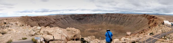 Meteor Crater Route 66 Arizona