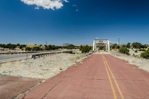 Walnut Canyon Bridge Winona Route 66 Arizona