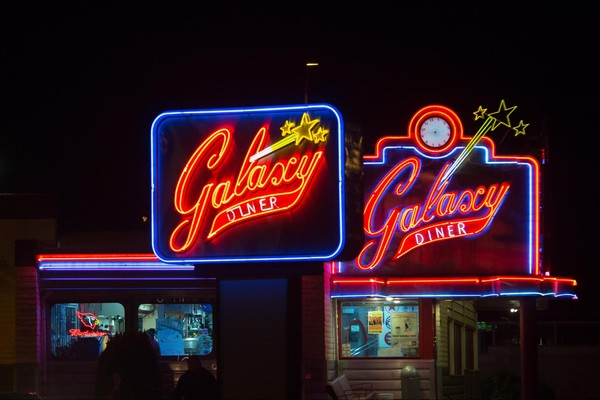 Galaxy Diner Flagstaff Arizona Route 66