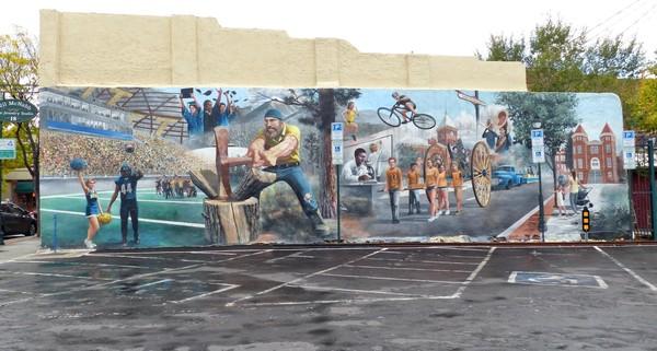 Murals Flagstaff Route 66 Arizona