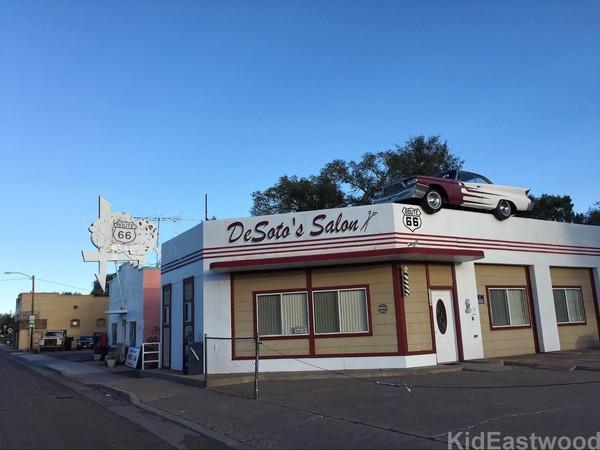 DeSoto's Salon Ash Fork Route 66 Arizona