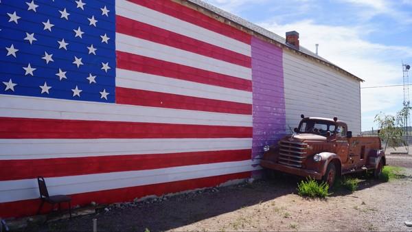 Mural Seligman Route 66 Arizona