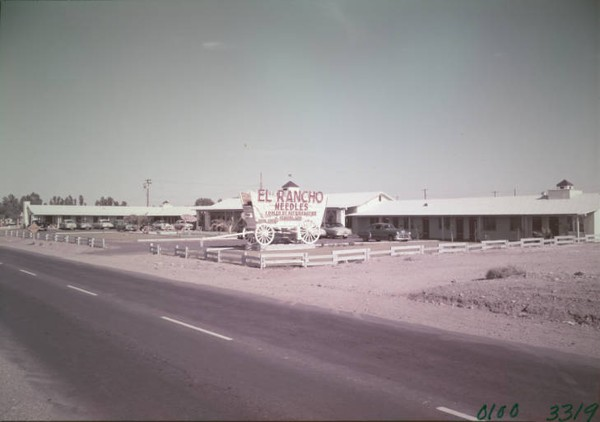Needles Railroad Borax Wagon Route 66 Californie