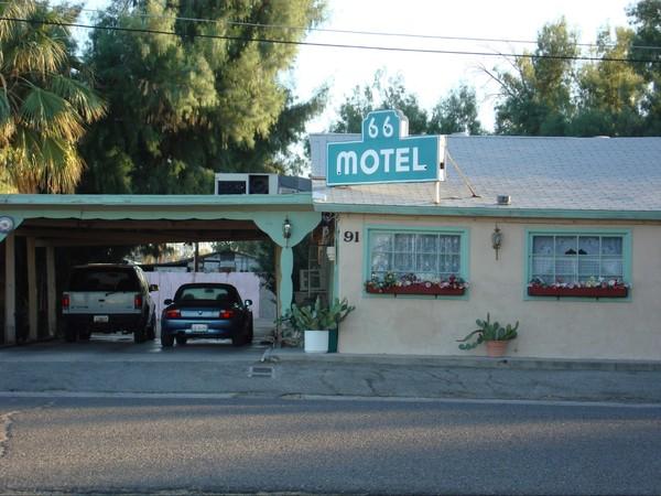 66 Motel Needles Route 66 Californie