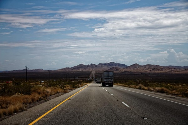 Interstate 40 Désert Mojave Route 66 Californie