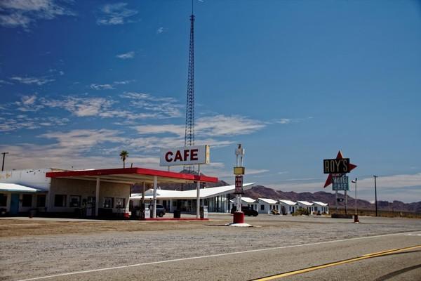 Roy's Motel and Café Amboy Route 66 Californie