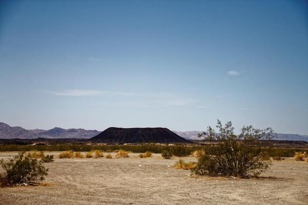 Cratère de Amboy Route 66 Californie
