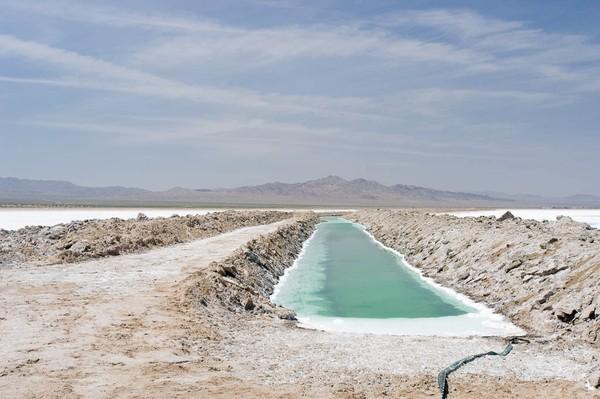 Salt Ponds Amboy Route 66 Californie