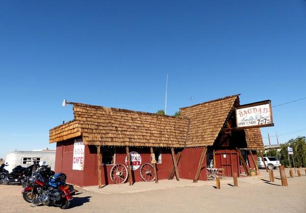 Bagdad Café à Newberry Springs Route 66 Californie