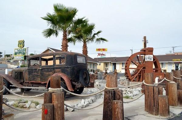 Route 66 Motel Barstow Californie