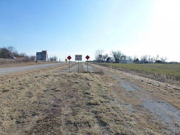 Vestige d'un ancien tracé de la Route 66 en Illinois