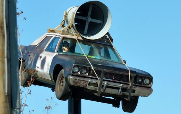 The Blues Brothers Car, Joliet Illinois Route 66
