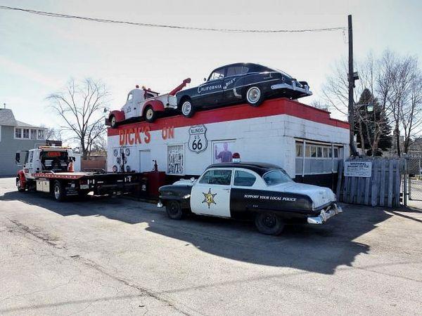 Dick's Towing Route 66 Joliet Illinois