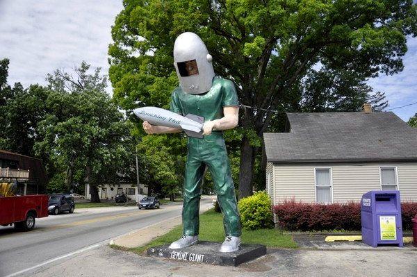 Gemini Giant Route 66 Wilmington Illinois